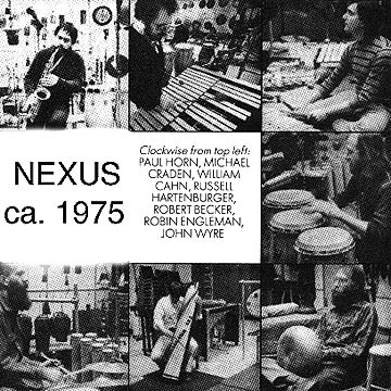 Photo collage from the 1975 sessions.