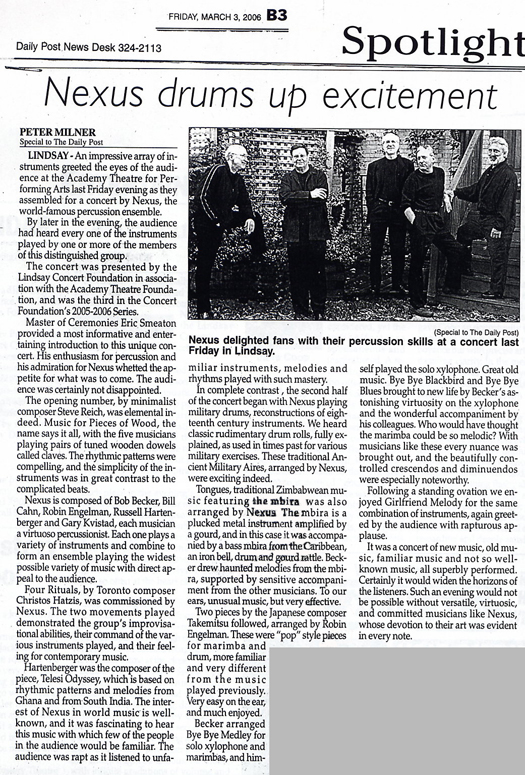 Lindsay, Ontario Review