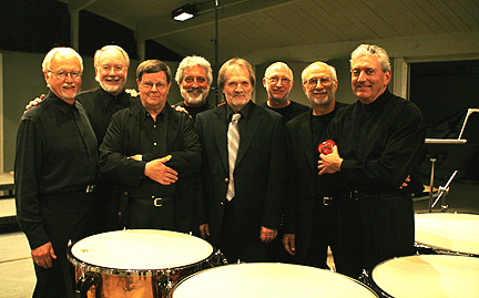 Jan Williams, Thomas Morris, Robin Engelman, Garry Kvistad, Peter Eötvös, Bob Becker, Russell Hartenberger, Bill Cahn