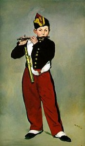 The Fifer, 1866, by Manet
