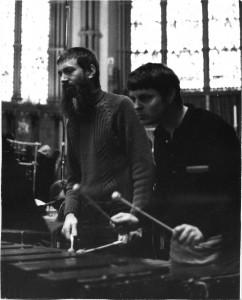 John Wyre & Robin Engelman in rehearsal, St.James