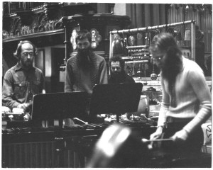 NEXUS in rehearsal c.1972, St.James Cathedral, Toronto
