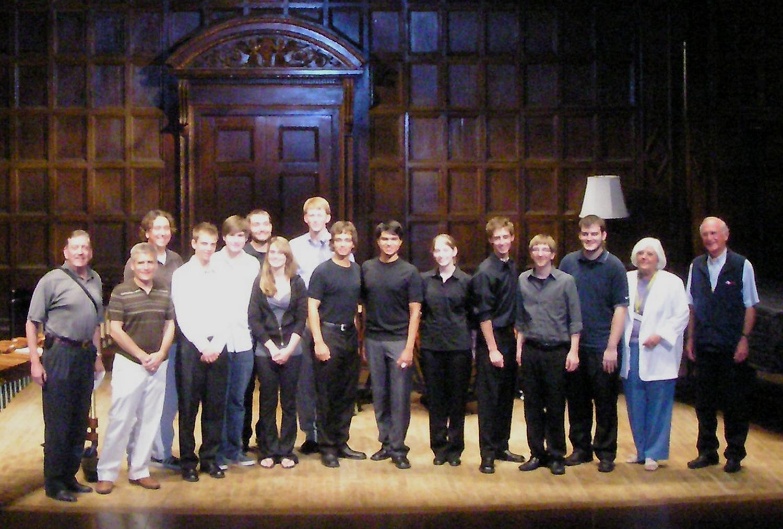 Kilbourn Hall, Thursday, July 9, 2009