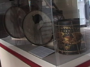 Historic Drums displayed at Fort Ticonderoga