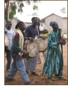Dagomba drummers