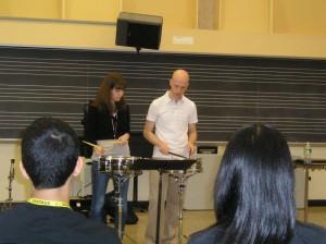 Lee Vinson's snare drum session