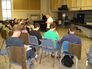 Orientation session with Michael Burritt