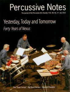 Cover of Percussive Notes