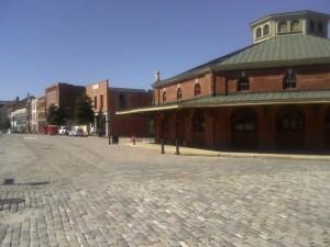 The old Farmers' Market in Petersburg, VA