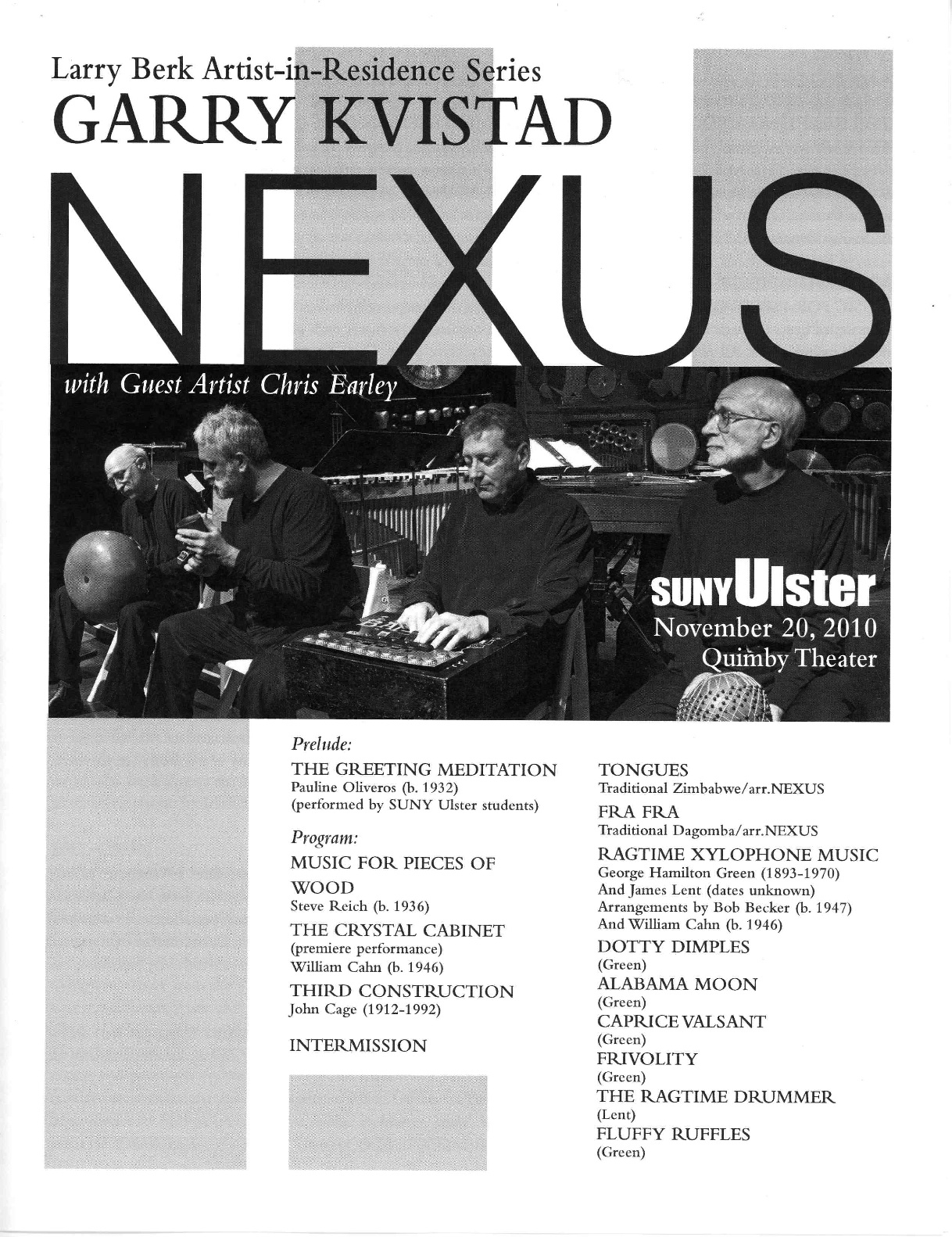 Another Premiere for NEXUS – November 20, 2010