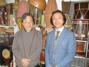 Tomoyuki Okada and Kazunori Meguro