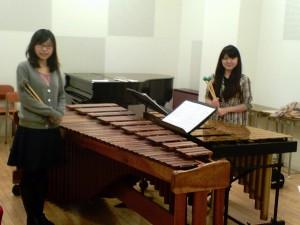 Ayaka Fujimoto and Erika Tanaka