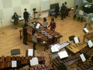 "Rehearsal of ""Rebana Loops"""