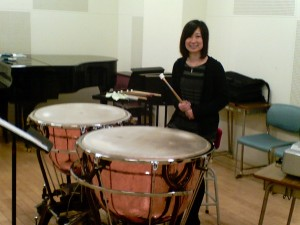 Yoko (senior year) on Aehnelt Timpani