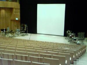 Auditorium in the Studio Acusticum