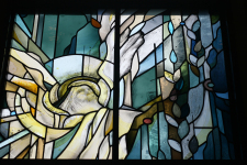 """""""Stained glass in Samuelson"""