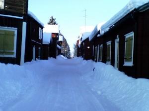 A street in Öjebyn