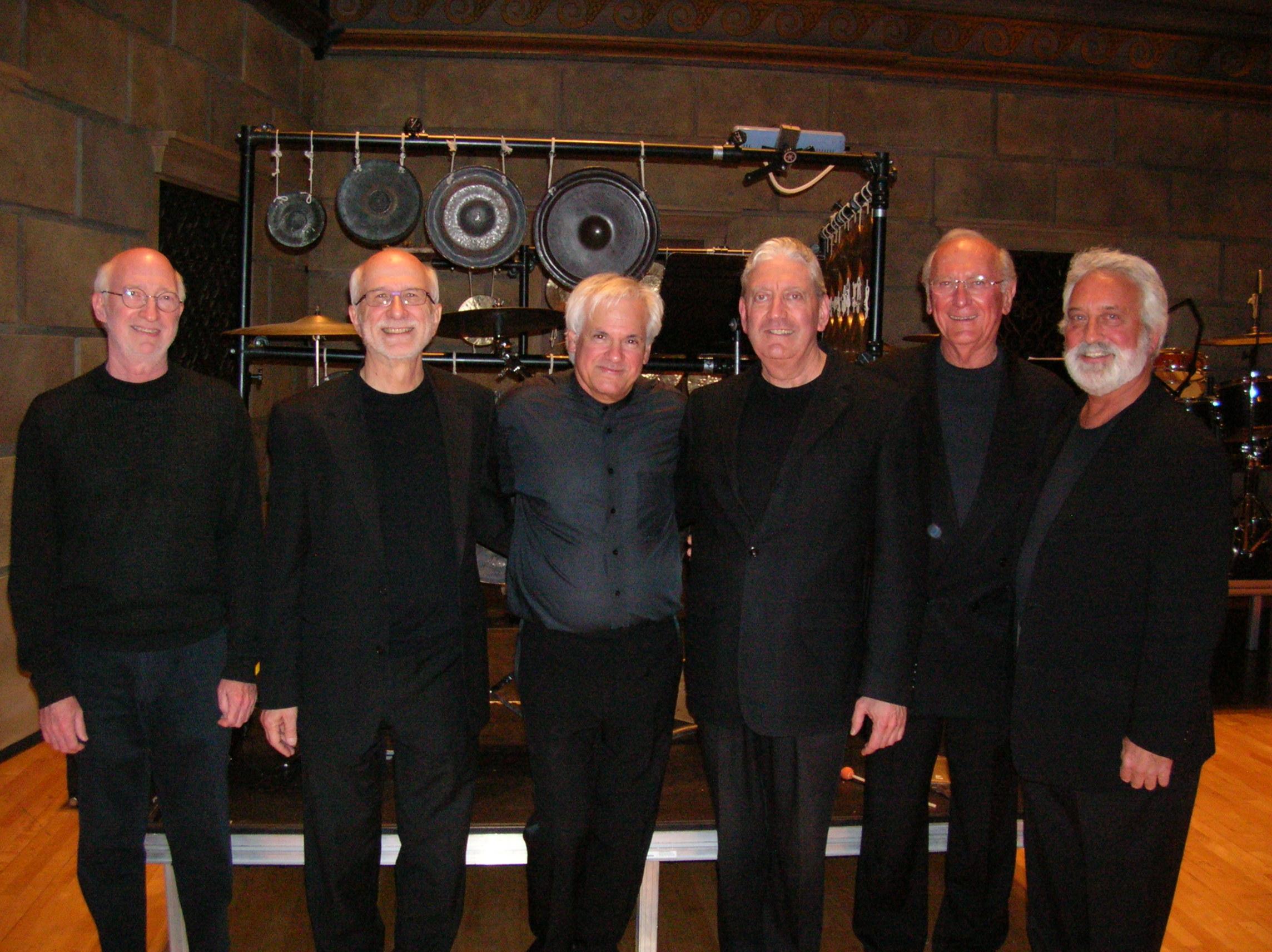 (L to R) Bob, Russell, Neil Varon, Bill, John Beck, Garry