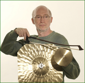 bob with bowing cymbal