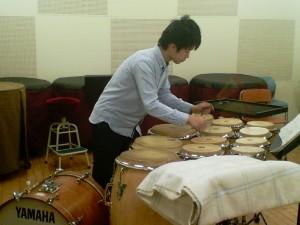 """Ryo playing """"Thirteen Drums"""""""