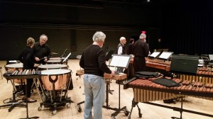 """Octet"" rehearsal at the Kimmel Center - Nov. 13 (l to r) Angela Zator Nelson, Don Liuzzi, Garry, Russell, Chris Deviney, Tony Orlando, Bob"
