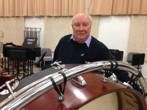 """Alan Abel at the rehearsal of """"Octet"""" by Maurice Wright - Nov. 11, 2014"""