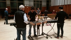 """Drumming Pt.2"" Rehearsal at Curtis - Nov. 13, 2014"