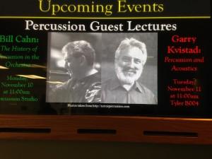 Video Monitor at Temple University - Nov. 10, 2014