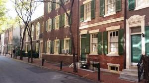 Old Philadelphia - Lombard Street