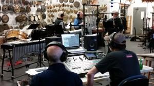 "NEXUS and Prana recording ""Chiaroscuro"""