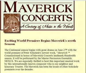 Maverick concerts announcement May15