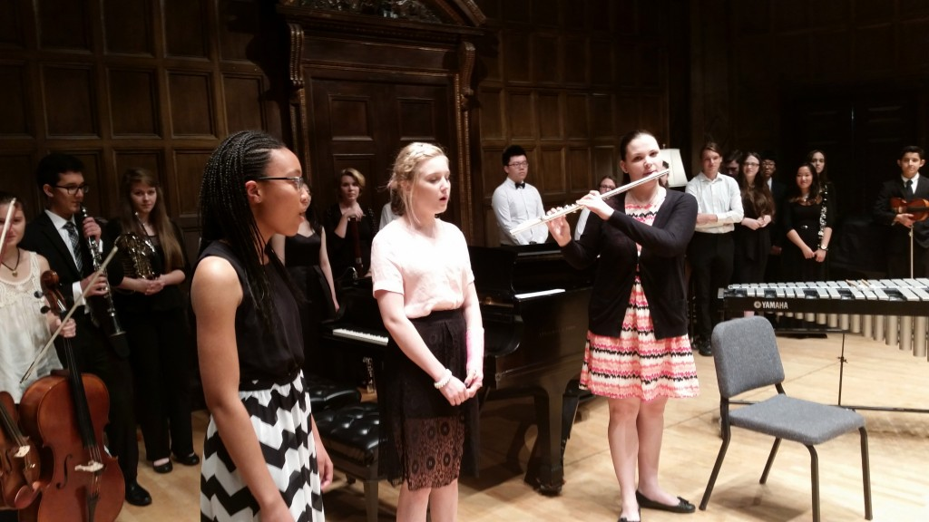 """A scene from the performance of """"Horizons Fantasia"""" on July 30, 2015 in Kilbourn Hall"""
