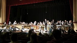 "The ""Celebrate Marimba"" Orchestra in concert at Schaeffer Auditorium on Nov. 6, 2015"