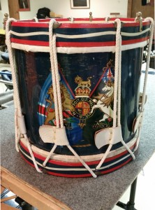 Restored Brass Shell Rope Drum