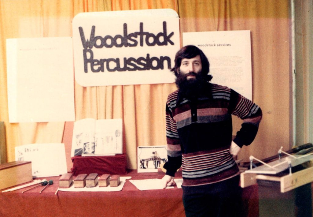 First Woodstock Percussion trade show -- 1979 NYC