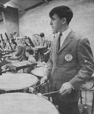 Sophmore in high school -- 1964