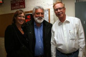 Diane and Garry Kvistad with Gary BurtonDiane and Garry Kvistad with Chick Corea 3/7/2008